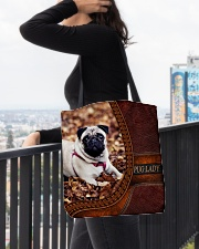 PUG LADY All-over Tote aos-all-over-tote-lifestyle-front-05