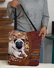 PUG LADY All-over Tote aos-all-over-tote-lifestyle-front-10