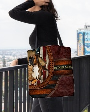 BOXER MOM 1003 All-over Tote aos-all-over-tote-lifestyle-front-05