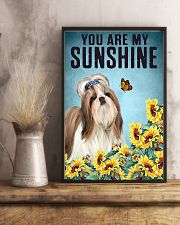 You are my Sunshine  Shih-tzu 16x24 Poster lifestyle-poster-3