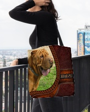 SHAR PEI 3 All-over Tote aos-all-over-tote-lifestyle-front-05
