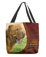 SHAR PEI 3 All-over Tote back