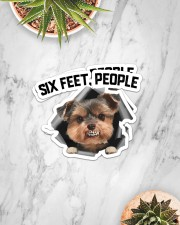 Sticker- Yorkshire Terrier Sticker - 2 pack (Horizontal) aos-sticker-2-pack-horizontal-lifestyle-front-06