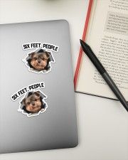 Sticker- Yorkshire Terrier Sticker - 2 pack (Horizontal) aos-sticker-2-pack-horizontal-lifestyle-front-19a