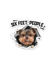 Sticker- Yorkshire Terrier Sticker - 2 pack (Horizontal) front