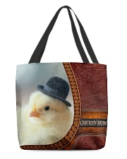 Chicken MOM 2 All-over Tote back