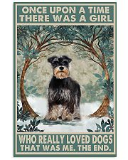 Girl loved Dogs  11x17 Poster front