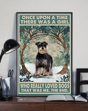 Girl loved Dogs  11x17 Poster lifestyle-poster-2