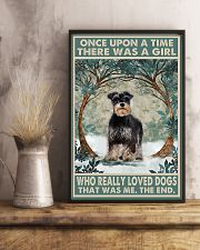 Girl loved Dogs  11x17 Poster lifestyle-poster-3