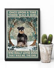 Girl loved Dogs  11x17 Poster lifestyle-poster-8