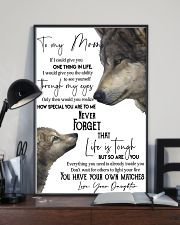 Picture Wolf Love 11x17 Poster lifestyle-poster-2