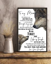 Picture Wolf Love 11x17 Poster lifestyle-poster-3