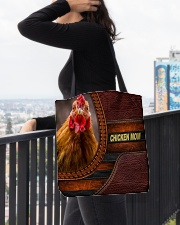 Chicken MOM 9 All-over Tote aos-all-over-tote-lifestyle-front-05