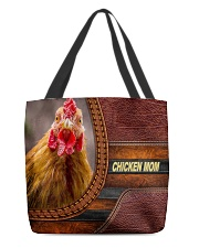 Chicken MOM 9 All-over Tote back