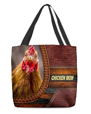 Chicken MOM 9 All-over Tote front