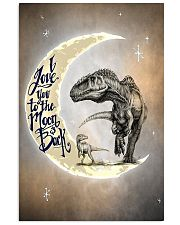 To the Moon and Back - Dinosaurs Poster 24x36 Poster front
