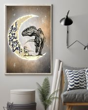 To the Moon and Back - Dinosaurs Poster 24x36 Poster lifestyle-poster-1