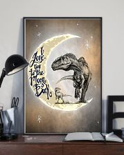 To the Moon and Back - Dinosaurs Poster 24x36 Poster lifestyle-poster-2