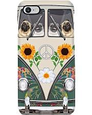 Pug Hippie 2 Phone Case i-phone-8-case