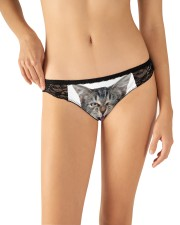My Cat funny2 Women's Lace Panties aos-womens-lace-panty-lifestyle-front-11