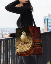 Chicken MOM 5 All-over Tote aos-all-over-tote-lifestyle-front-05
