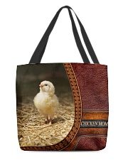 Chicken MOM 5 All-over Tote front