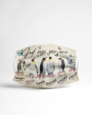 Penguins 1001 Cloth face mask aos-face-mask-lifestyle-22