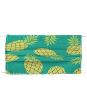 Pineapple 1015 Cloth face mask front