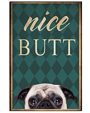PUG Funny 11x17 Poster front