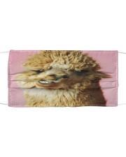 Llama 1024 Cloth face mask front