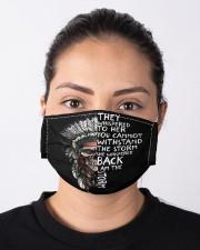 Native Aerican Skulls Cloth face mask aos-face-mask-lifestyle-01