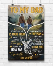 Hunting To My Dad 11x17 Poster aos-poster-portrait-11x17-lifestyle-17
