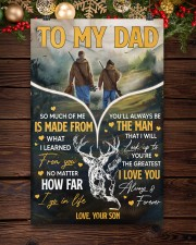 Hunting To My Dad 11x17 Poster aos-poster-portrait-11x17-lifestyle-22