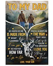 Hunting To My Dad 11x17 Poster front