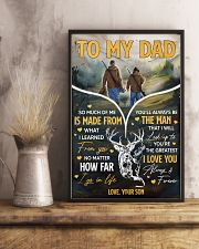 Hunting To My Dad 11x17 Poster lifestyle-poster-3