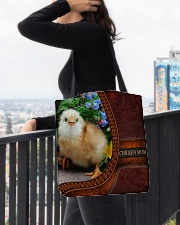 Chicken MOM 1 All-over Tote aos-all-over-tote-lifestyle-front-05