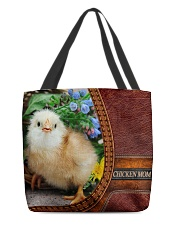 Chicken MOM 1 All-over Tote front