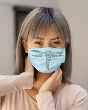 Dragonfly FM SHIP WITHIN 3 TO 5 business days Cloth face mask aos-face-mask-lifestyle-18