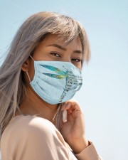 Dragonfly FM SHIP WITHIN 3 TO 5 business days Cloth face mask aos-face-mask-lifestyle-19