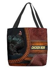 Chicken MOM 7 All-over Tote front
