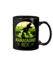 Vintage Retro 3 Kids Mamasaurus Lover Mug thumbnail