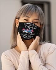 Flamingo cruising Cloth Face Mask - 3 Pack aos-face-mask-lifestyle-17