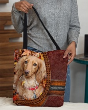 MY DACHSHUND All-over Tote aos-all-over-tote-lifestyle-front-10