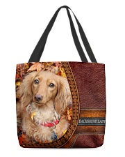 MY DACHSHUND All-over Tote front