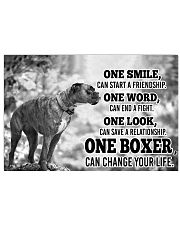 BOXER CHANGE YOUR LIFE 36x24 Poster front