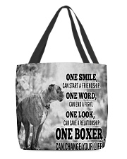 BOXER CHANGE YOUR LIFE All-over Tote thumbnail