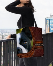 French Bulldog 2 All-over Tote aos-all-over-tote-lifestyle-front-05