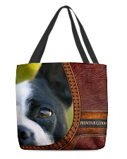 French Bulldog 2 All-over Tote front