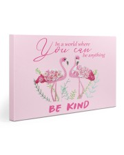 BE KIND Pink 30x20 Gallery Wrapped Canvas Prints front