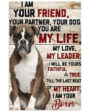 My Boxer 11x17 Poster front